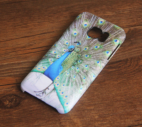 Peacock Animal Elegant Samsung Galaxy S7 Edge/S7/S6 Edge Plus/S6 Edge/S6/S5/S4/Note 5/Note 4/Note 3 Case #174 - Acyc - 1