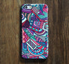 Abstract Geometric iPhone 6 6 Plus 5S 5C 5 Dual Layer Durable Tough Case #181 - Acyc - 1