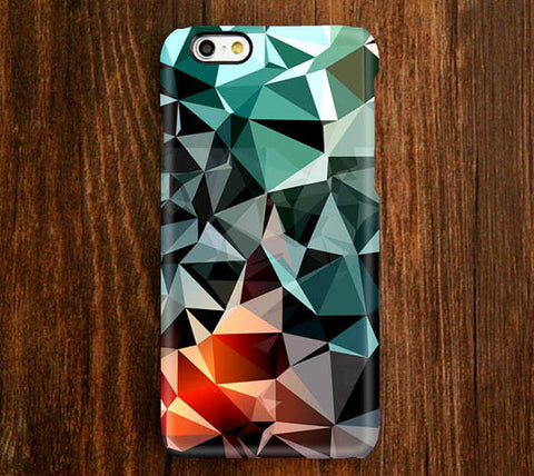 Reflection Geometric Pattern iPhone 6s Plus 6 5S 5C 5 4 Dual Layer Durable Tough Case#183 - Acyc - 1
