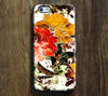 Art Floral Pattern Tough iPhone 6s Plus/6/5S/5C/5/4S/4 Protective Case #186 - Acyc - 1