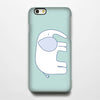 Lovely Elephant iPhone 6 Case/Plus/5S/5C/5/4S Dual Layer Durable Tough Case #192 - Acyc - 1