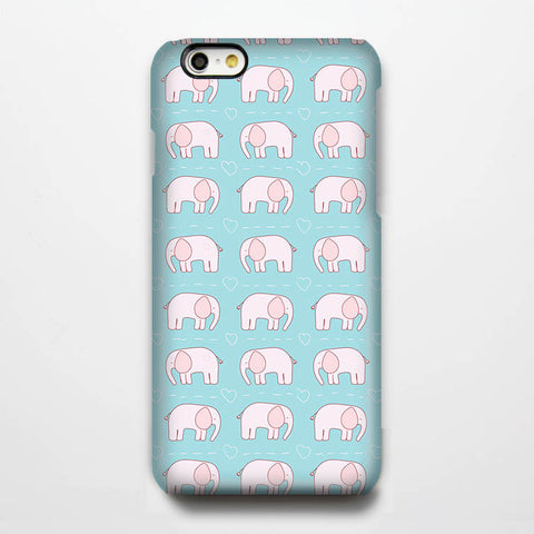 Little Elephant Pattern iPhone 6 Case/Plus/5S/5C/5/4S Dual Layer Durable Tough Case #193 - Acyc - 1