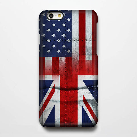 United Flag iPhone 6s Tough Case/Plus/5S/5C/5/4S Protective Case #197 - Acyc - 1
