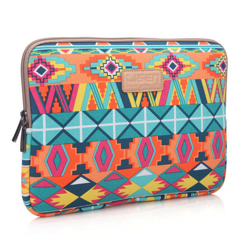 Ethnic  Notebook Sleeve Bag Case for iPad Macbook 10 11 12 13 15  Samsung Laptop - Acyc - 1