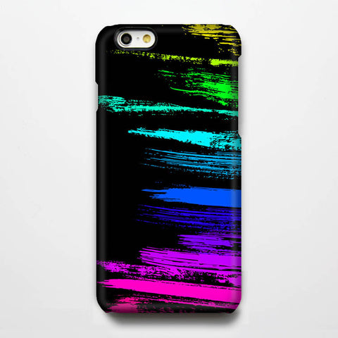 Rainbow Graffiti Color Paintings iPhone 6 Plus 6 5S 5C 5 4 Dual Layer Tough Case #201 - Acyc - 1