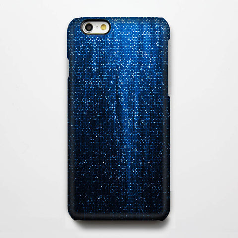 Shiny Blue Sparkles Tough iPhone 6S Case/Plus/5S/5C/5/4S Protective Case #203 - Acyc - 1