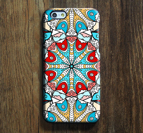 Native Ethnic Pattern Tough iPhone 6S/6 6 Plus  5S 5C 5 4 SE Protective Case #204 - Acyc - 1