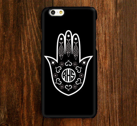 Hamsa Hand Monogram iPhone 6 Plus 5S 5 5C 4 Protective Case 207 - Acyc - 1