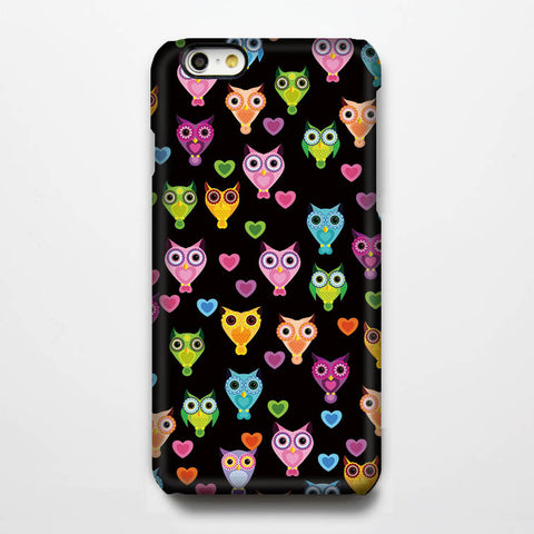 Owl Design Pattern iPhone 6s Case/Plus/5S/5C/5/4S Dual Layer Durable Tough Case #221 - Acyc - 1