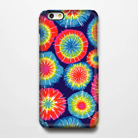 Tie Dye Design Tough iPhone 6s Plus/6/5S/5C/5/4S/4 Protective Case #225 - Acyc - 1