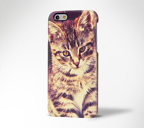 Cute Cat portrait iPhone 6 Case/Plus/5S/5C/5/4S  Dual Layer Durable Tough Case #238 - Acyc - 1