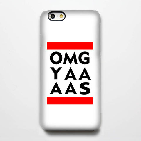 OMG YAAAS Quotes Tough iPhone 6s Case/Plus/5S/5C/5/4S Protective Case #258 - Acyc - 1