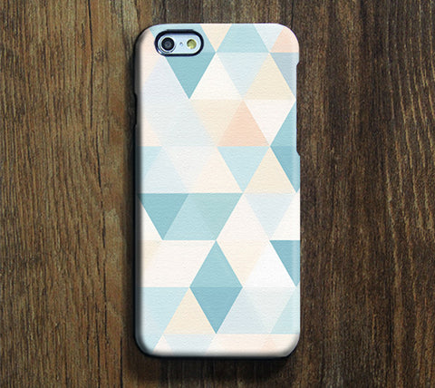 Triangle Light Color Print iPhone 6S Plus 6S 5S 5C 5 4 Dual Layer Durable Tough case#266 - Acyc - 1