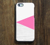 Geometric Pink Design iPhone 6S Plus 6S 5S 5 5C 4  Dual Layer Durable Tough Case #269 - Acyc - 1