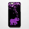 Pink Stars Glitter Elephant iPhone 6 Case/Plus/5S/5C/5/4S Dual Layer Durable Tough Case#273 - Acyc - 1