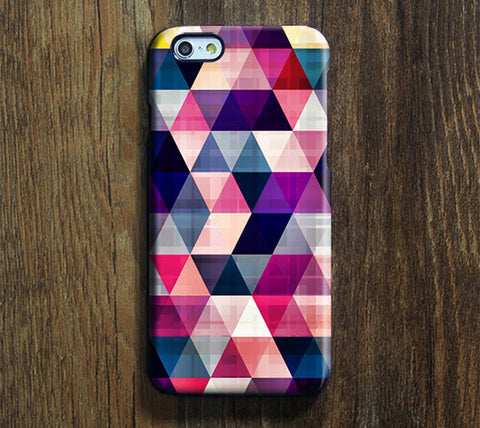Geometric Pattern iPhone 6 Case/Plus/5S/5C/5/4S Dual Layer Durable Tough Case #281 - Acyc - 1