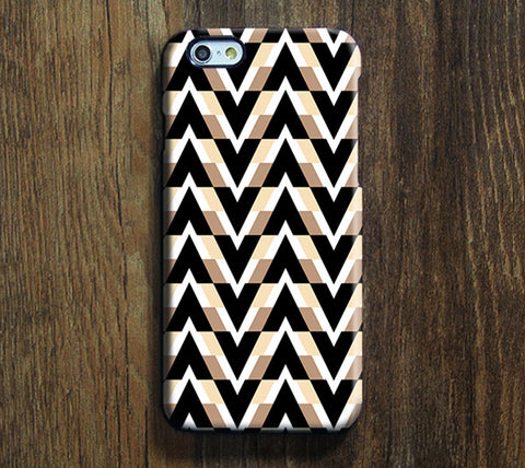 Nostalgia Geometric Print iPhone 6S Case 6/Plus/SE/5S/5C/5/4S Dual Layer Durable Tough Case #291 - Acyc - 1