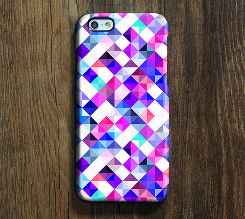 Vibrant Geometric Pattern iPhone 6 Case/Plus/5S/5C/5/4S Dual Layer Durable Tough Case #298 - Acyc - 1