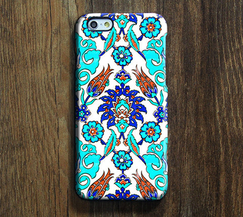 Ethnic Floral Print iPhone 6 Case/Plus/5S/5C/5/4S Dual Layer Durable Tough Case #300 - Acyc - 1