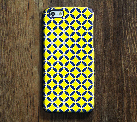 Intersecting Geometric Print iPhone 6 Case/Plus/5S/5C/5/4S Dual Layer Durable Tough Case #303 - Acyc - 1