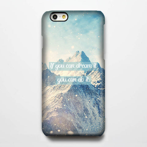 Dream it,Do it. iPhone 6 Plus/6/5S/5C/5/4S/4  Dual Layer Durable Tough Case #316 - Acyc - 1