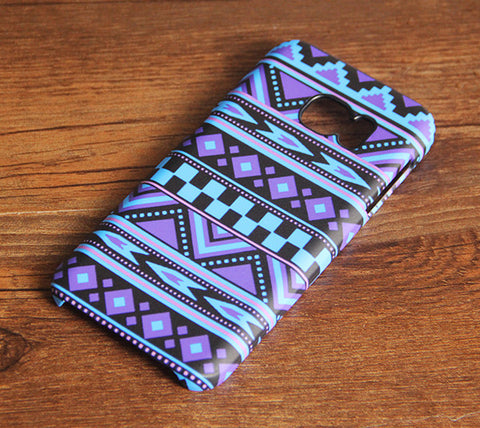 Turquoise Violet  Aztec Ethnic Samsung Galaxy S7 Edge/S7/S6 Edge Plus/S6 Edge/S6/S5/S4/Note 5/Note 4/Note 3 Case #347 - Acyc - 1