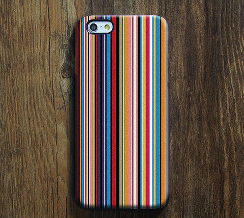Stylish Stripes Tough iPhone 6S Plus/6/5S/5C/5/4S/4 Protective Case #375 - Acyc - 1