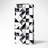 Fashion Black White Geometric Print iPhone 6s Case/Plus/5S/5C/5/4S Case 386 - Acyc - 1