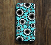 Vibrant Floral Pattern Tough iPhone 6s Plus/6/5S/5C/5/4S/4 Protective Case #406 - Acyc - 1