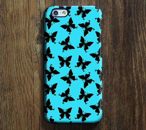Butterfly Pattern Design iPhone 6s Case/Plus/5S/5C/5/4S e  Dual Layer Durable Tough Case #424 - Acyc - 1