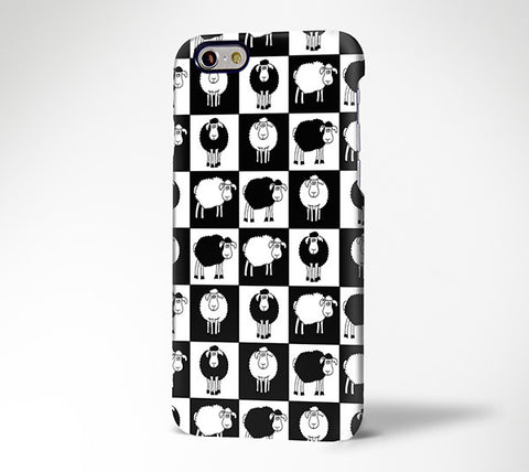 Lovely Sheep Pattern Design iPhone 6 Case/Plus/5S/5C/5/4S Dual Layer Durable Tough Case #428 - Acyc - 1