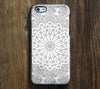 Classy Chic Floral Pattern iPhone 6s Plus/6/5S/5C/5/4S/4 Dual Layer Durable Tough Case #493 - Acyc - 1