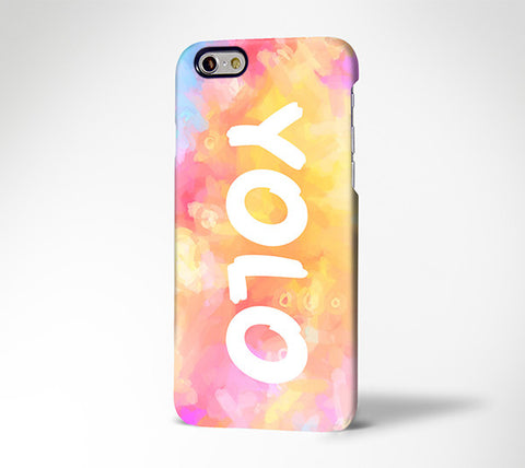 YOLO Life Quote Tough  iPhone 6s Plus/6s/5S/5C/5/SE Dual Layer Protective Case #593 - Acyc - 1