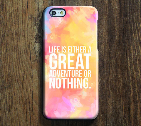 Great Or Nothing Quote Tough iPhone 6s Plus/6/5S/5C/5/SE Dual Layer Protective Case #595 - Acyc - 1