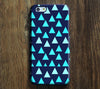 Navy Geometric Triangle Design iPhone 6s Case/Plus/5S/5C/5/4S Dual Layer Durable Tough Case #670 - Acyc - 1