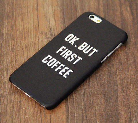 First Coffee Tough iPhone  6S/6/Plus//SE/5S/5C/SE Dual Layer Rubber Case #749 - Acyc - 1
