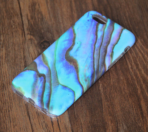 Turquoise Marble iPhone 6s 6 Tough Case/Plus/5S/5C/5/SE Dual Layer Case #834 - Acyc - 1
