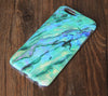 Marble Turquoise Stone Pattern iPhone 6s 6 Tough Case/Plus/5S/5C/5/4S Dual Layer Case #843 - Acyc - 2