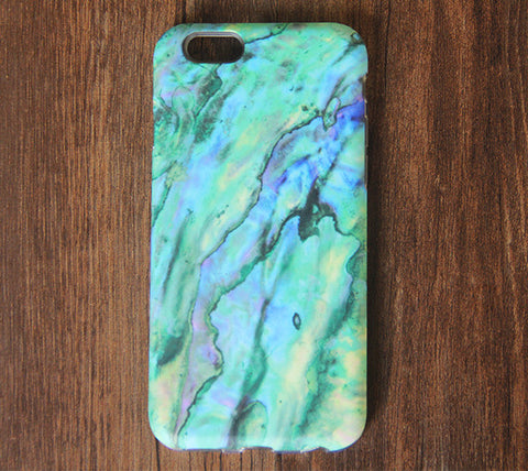 Marble Turquoise Stone Pattern iPhone 6s 6 Tough Case/Plus/5S/5C/5/4S Dual Layer Case #843 - Acyc - 1