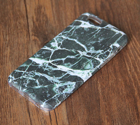 Natural Marble iPhone 6s 6 Tough Case/Plus/5S/5C/5/SE Dual Layer Case #861 - Acyc - 1