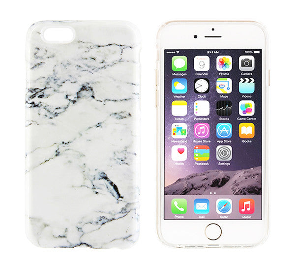 online retailer 07793 75d0f White Marble Design iPhone 8/7 iPhone 6s 6 Case/Plus/5S/5C/5/4S Dual Layer  Durable Tough Case #876
