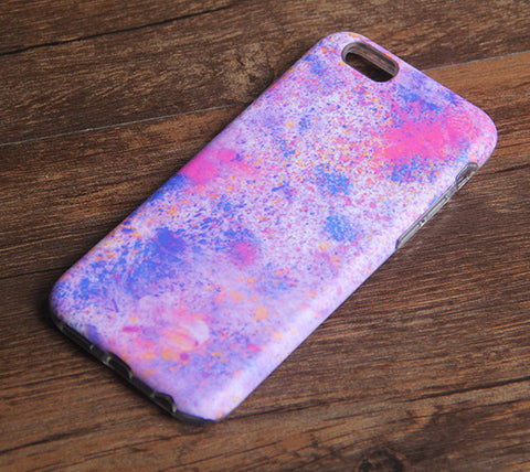 Pastel Watercolor Print iPhone 6s 6 Tough Case/Plus/5S/5C/5/SE Protective Case #889 - Acyc - 1