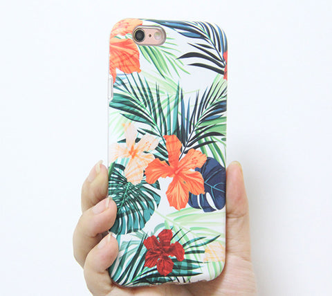 Spring Flowers iPhone 6s 6 Tough Case/Plus/5S/5C/5/SE Protective Case #894 - Acyc - 1
