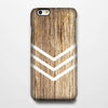 Natural Wood Geometric Tough iPhone 6s Case/Plus/5S/5C/5/4S Protective Case #906 - Acyc - 1