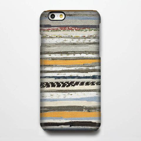 Natural Fabric Stripes iPhone 6 Case/Plus/5S/5C/5/4S Dual Layer Durable Tough Case #916 - Acyc - 1