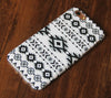 Ethnic Tribal Black and White iPhone 6s 6 Tough Case/Plus/5S/5C/5/SE Protective Case #924 - Acyc - 1