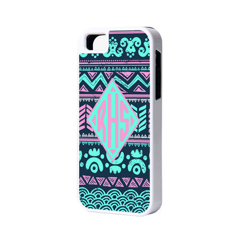 Aztec Ethnic Monogram iPhone 6 Plus 6 5S 5 5C 4 Tough Case 926 - Acyc - 1