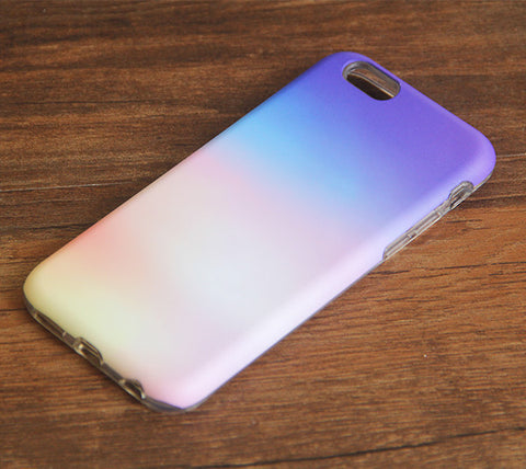 Gradient Pastel Cloud iPhone 6s 6 Case/Plus/5S/5C/5/4S Dual Layer Durable Tough Case #931 - Acyc - 1