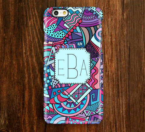Abstract Geometric Monogram iPhone Case and Samsung Case 930 - Acyc - 1