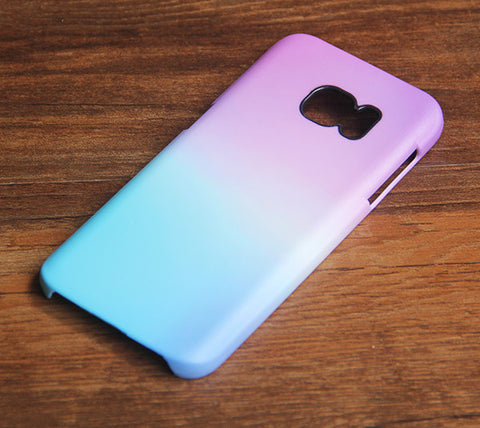 Gradient Pastel Samsung Galaxy S7 Edge/S7/S6 Edge Plus/S6 Edge/S6/S5/S4/Note 5/Note 4/Note 3 Case 931 - Acyc - 1